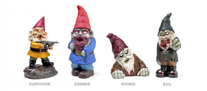 Zombies gnomos