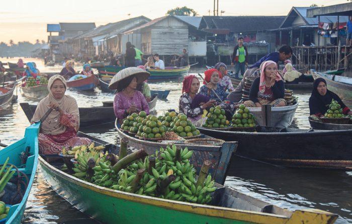 Mercado Flotante de Banjarmasin