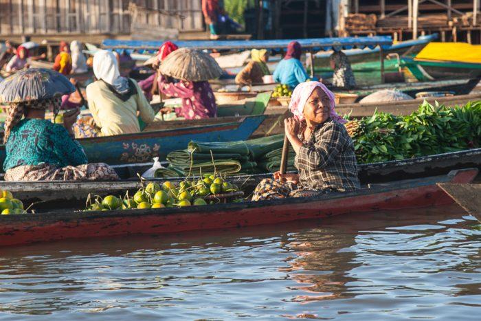 Mercado Flotante Banjarmasin