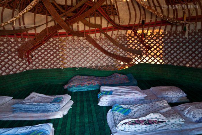 Campamento de Yurtas Aydar