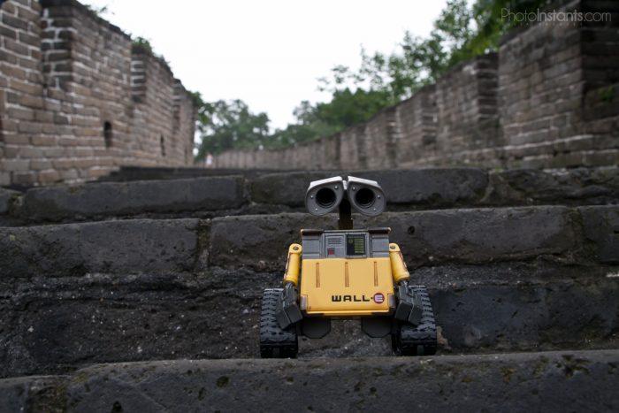 Wall·E en la Gran Muralla