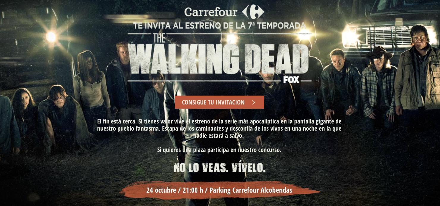 2a0082f21b Sufre el estreno de The Walking Dead a lo grande
